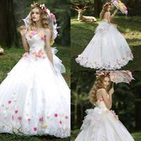 apple hu - 2017 Quinceanera dresses Ball gown Puffy Princess Hamd made flowers Sweet party dress for Birthday Plus size Party gown hu
