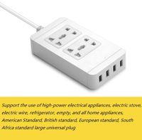 Wholesale Smart Power Socket Portable Strip Plug Adapter with USB Port Multifunctional Smart Home Electronics