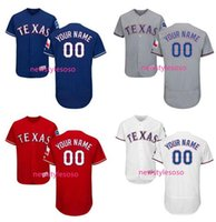 authentic rangers jerseys - Personalized Men s Texas Rangers Home White Flex Base Authentic Collection Custom stitched Jersey