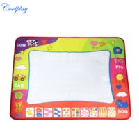 Wholesale Coolplay x60cm Aqua Doodle Painting Mat Drawing Pen Water Drawing Play Mat water draw rug coloring mat for kid toys CP1308