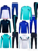 Men best men s clothing brands - Best quality free send ARchelsea training suit HAZARD COSTA WILLIAN COURTOIS kits Jogging sportswear brand workout clothes
