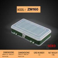 Wholesale Free plastic portable parts storage box toolbox screw box electronic components sample classification parts box