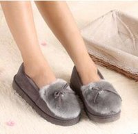 Wholesale 2016 new winter Home Furnishing cotton shoes Outdoors Doug shoes Cotton slippers Warm and lovely for Beautiful you
