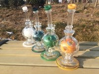 ball joint design - Four colors Ball rig Glass Bongs Oil Rigs Glass Design feb egg combo with mm joint