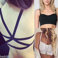 Seamless bandeau top lace - Women Lace Top Bralet Bustier Eyelash Vest Strappy Crop Top Bra Bandeau Colors