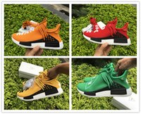 b carbon - With original Box NMD Human Race Boost Orange With Real Carbon Fiber Humanrace NMD Fashion Casual Running Shoes Size
