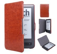 Wholesale Pocketbook case the thinnest and lightest PU leather case fits pocketbook622 with Auto sleep wake