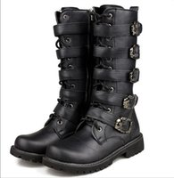 add straps dress - 2017 Hot sales men Wedding shoes Add velvet shoes Stage performance fashion boots special combat boots Size Z16