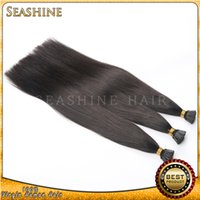 Wholesale human hair stick tip I tip brazilian hair extensions all kinds of length