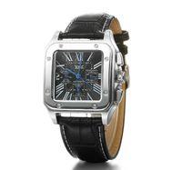 Wholesale Swiss Nylon belt Leather belt Fashion Waterproof Luxury Multifunctional Automatic Square Casual Women s and Couple watches