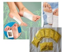 adhesive plaster remover - Drop Shipping pack Pairs Herbal Detox Foot Pads With Adhesives Feet Care Medical Plaster Foot Remover Relieving Pain Foot Massager