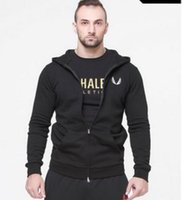 Wholesale Fitness brothers new men in the spring and autumn winter running fleece coat of cultivate one s morality