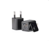 al por mayor tapones de los agujeros-M1S sin agujero HD 1080P Spy adaptador de CA Cámara escondida USB cargador del teléfono Cámara Full HD adaptador de CA USB Spy Cam Plug