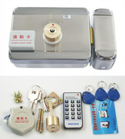 Wholesale Electric Lock anti theft alarm one super card ID card lock mute lock integrated lock
