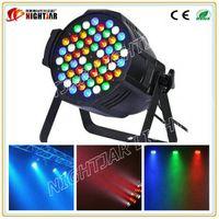 Wholesale LED Aluminum Par Light Stage Light LED PAR CAN Dmx DJ Lighting LED Uplights RGBW Colors Wash