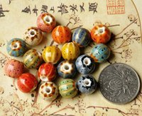 Wholesale Porcelain Beads mixed color ceramic DIY loose beads more shapes for choice sold per pack of pieces