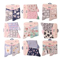 army story - Women Brand Creative Cartoon Animal Cotton Socks Female Spring Autumn Fashion Cute Story Socks pairs