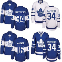 anti stop - Men Toronto Maple Leafs Auston Matthews Mitch Marner Blue th Centennial Classic Premier Jersey stitched S XL