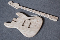 bass guitar kits - New brand project electric J bass guitar kit with ASH body by CNC