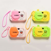 Wholesale 1PCS Random Color Baby Kids Plastic Toy Camera Intelligent Simulation Digital Camera Childrens Study Educational Toys Gifts