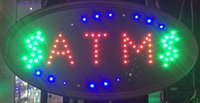 animated flash - Flashing Boards Animated LED Light Shop Business Neon Signs ATM