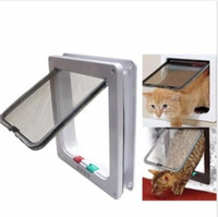 best dog gates - Medium Small White Pet Cat Puppy Dog Supplies Lock Frame Safe Security Flap Door Gate Pet Supplies Your Best Choice