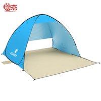 Wholesale Portable Ultralight Outdoor Automatic Quick Open Beach Tent Folding Sunshade Fishing Gazebo Sun Awning Tarp Pergola UV Shade