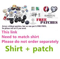Wholesale 16 Custom patches This link Need to match shirt Please do not order separately