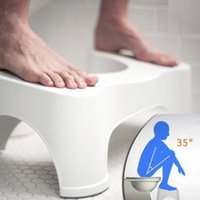 Wholesale ABS Nonslip Bathroom Toilet Stool Prevent Constipation Toilet Footstool for Better Bowel Movements Your Best Choice