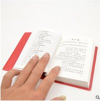 Wholesale Chairman Mao s Red Book Cultural Revolution memorabilia collection Mao Zedong anthology quotations of learning gifts
