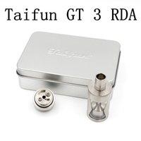 Cheap 2016 Newest Taifun GT3 Taifun GT 3 Taifun GT v3 EX rda atomizer E Cigs vapor DHL Free