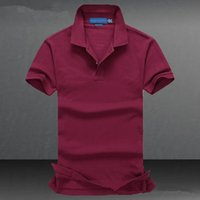 Wholesale 2017 New Polo Shirt Men Short sleeve Cotton Casual Breathable Shirt Mens Turn down collar Polos shirts homme Men Brand clothing