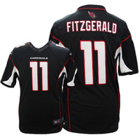 Wholesale Youth Football Cardinals FITZGERALD Game Embroidered With C Patch jersey