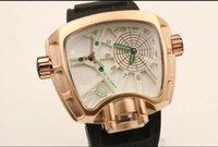 Wholesale Luxury Men s Women Black Rubber Sport Quartz Wrist Watch A9