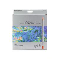 Wholesale Marco Raffine Fine Art Lapis Colors Drawing Pencils Drawing Sketches Mitsubishi Coloring Book Secret Garde Pencil