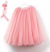tulle american apparel belts - Best Quality custom Layers Midi Tulle Skirt American Apparel Tutu Skirts Womens Petticoat Elastic Belt fashion style