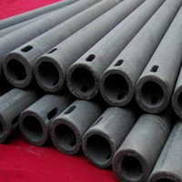 Wholesale Refractory Silicon carbide pipe refractory kiln furniture supplier China Silicon carbide tube refractory kiln furniture supplier