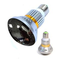 Wholesale Wireless Bulb shaped Hidden DVR Security Camera with Invisible Light at night and Back up battery