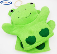 Bath better towels - Bath Glove Green Frog Blister towel Better Bodies Pure Natural Cotton Sisal Decontaminate For Children Toy Without Stimulation