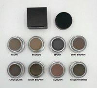 Crème pour les sourcils Pomme Moyenne Marron Maquillage imperméable 4g Blonde / Chocolat / Brun foncé / Ébène / Auburn / Marron moyen / TALPE