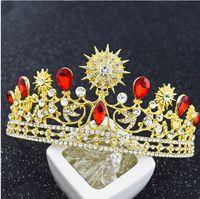 batch platinum - The bride Crown Star Tiara Jewelry Wedding wedding wedding ornaments Korean new accessories mixed batch of direct selling