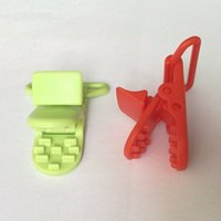 baby mam - Baby Toddler Soother Mam Infant Dummy Clips Chain For mm Ribbon Plastic Pacifier Clip Holder Transparent Clip