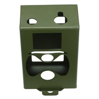 Wholesale New arrivals Army Green Security metal box for Suntek hunting trail camera HC Series