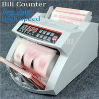 bank counting machine - LCD Display Money Bill Counter Counting Machine UV MG Cash Bank MONEY COUNTER currency count machine110v220v fastship via DHL