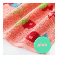 Wholesale 100 Cotton Square Towel Cartoon Water Absorbent Best Selling Good Quality