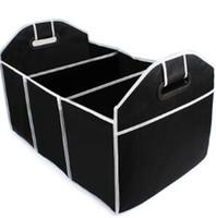 Pocket Holder auto cargo storage - Collapsible Car Trunk Organizer Truck Cargo Portable Tools Folding storage Bag Case Space Saving Auto Boot Organizer