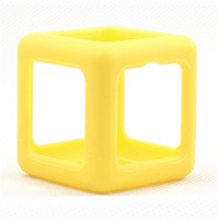 6 colors pls note big bumpers - Fidget Cube Case toys Cover Protector Funny Environmentally ABS Fidget Cube Toy Protective Bumper Frame Cases free DHL
