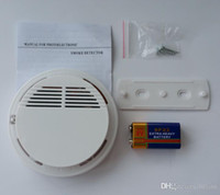 Wholesale 10psc Smoke Detector System with V Battery Operated High Sensitivity Stable Fire Alarm Sensor Suitable for Detecting Home Security
