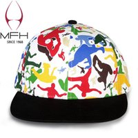 baseball glove embroidery - Digital printing cotton baseball cap d tide topi students hip hop cap embroidery letters