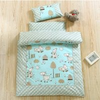 Wholesale Nursery quilt three sets of children nap cotton quilt core cotton age was thickened winter was baby cotton was